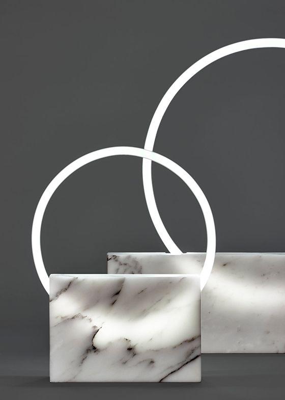marble lighting