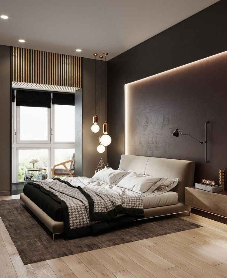 bedroom headboard lighting