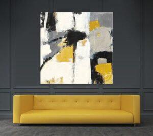 modern art piece