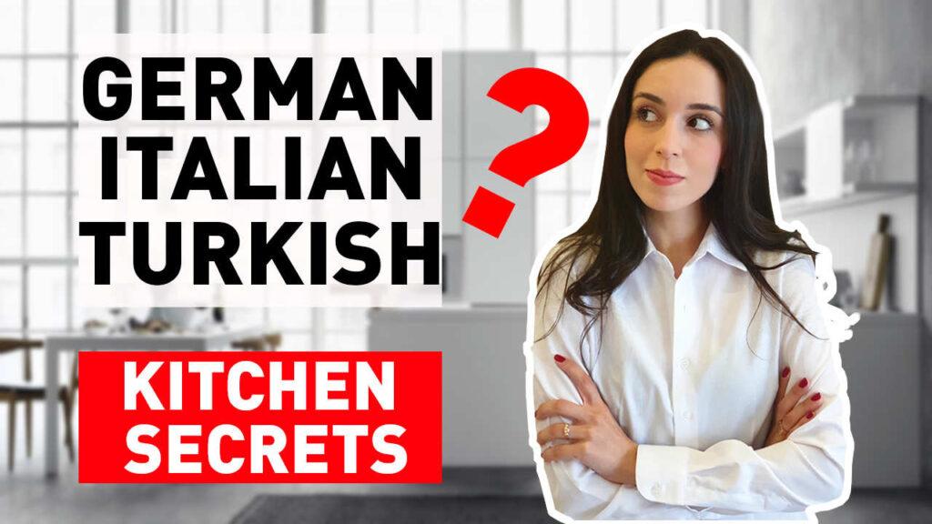 german vs italian kitchen