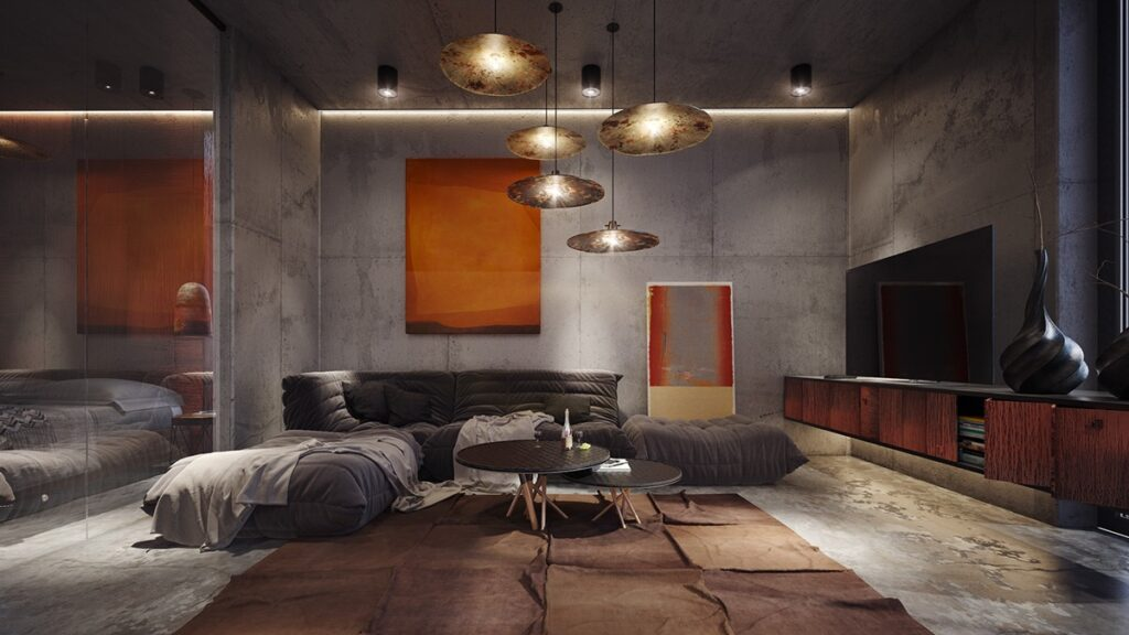 concrete accents