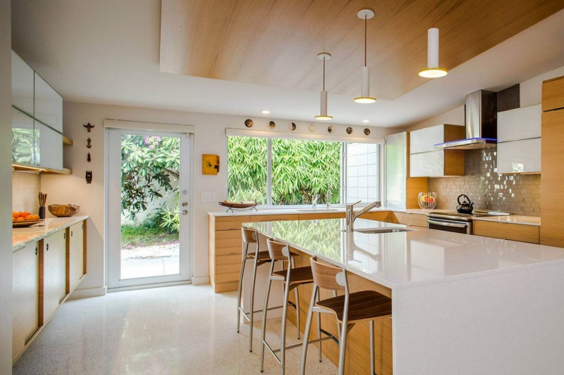 Mid-Century Contemporary Kitchen